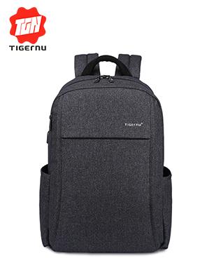 2017 Tigernu Anti-theft зарядки USB Мужчин 15.6 дюймов Ноутбук Рюкзак Женщины Рюкзак Mochila Школа Р