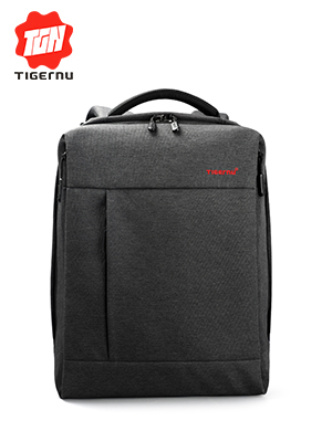 "2017 Tigernu Brand External USB Charge Computer Bag Anti-theft Notebook Backpack 12.1-14"" Waterproof"
