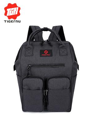 泰格奴2017新款电脑背包学生书包休闲旅行背包笔记本电脑包