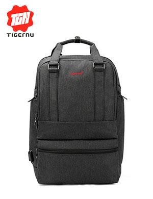 泰格奴新款厂家直销USB侧边电脑层电脑包学生休闲书包旅行背包